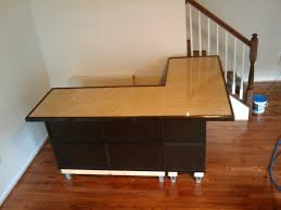 modern l shaped desk ikea with modern l shaped reception desk for office furniture ideas