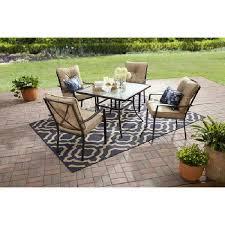 outdoor patio 6 piece dining set
