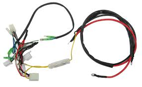 engine wiring harness for gy6 150cc 05711a bmi karts inside gy6 150 diagram
