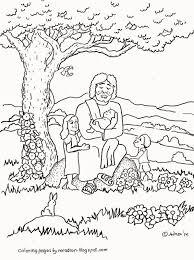 4 Jesus Loves Children Coloring Page Jesus Loves Children Sunday
