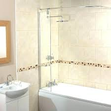 shower guard home depot bathtub corner splash guard home depot shower screen with rail new ideas