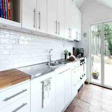modern white kitchen backsplash tile idea astonishing design of the area with cabinet added picture dark