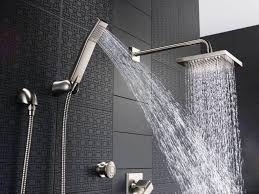 Wall Rain Shower Head With Handheld Bed And Shower Perfect