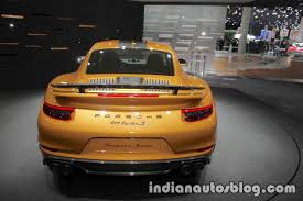 2018 porsche turbo s exclusive.  2018 2018 porsche 911 turbo s exclusive series rear at the iaa 2017 with porsche turbo s exclusive