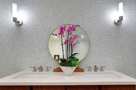 modern white glass mosaic tile