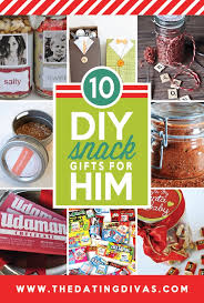 DIY Snack Gifts for Him