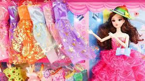 Búp bê xinh đẹp đi shopping lựa chọn quần áo đẹp - F628Q Nữ hoàng cận -  YouTube