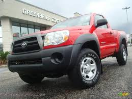 2008 Toyota Tacoma Regular Cab 4x4 in Radiant Red - 546405 | Autos ...