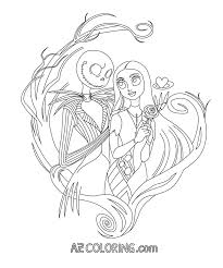 Nightmare Before Christmas Coloring Pages For Adults With New