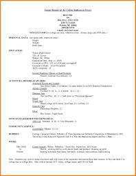 8 College Student Cv Graphic Resume