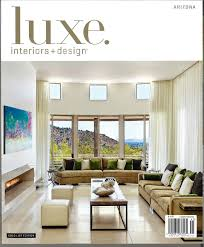 Hot Off The Press Luxe Interiors Design  PHX Architecture - Luxe home interiors