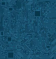 Digital Circuit Background Texture Of Processor Motherboard Stock