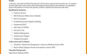 Dental Assistant Objective For Resume Orthodontist Assistant Resume Examples Sample Orthodontic Dental 67