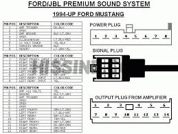2001 2004 mustang factory radio diagram to upgrade stereo ford mustang wiring diagram 2013 Ford Mustang Wiring Diagram #21