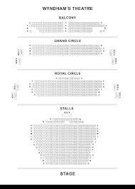 Wyndhams Theatre Seating Plan Londontheatre Co Uk