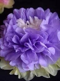 tissue paper flower centerpiece ideas