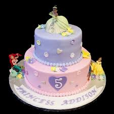 Princess Cake Designs Little Girl Birthday Cakes Edward A