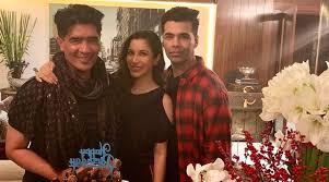 Karan Johar Sophie Choudry And Others Celebrate Manish Malhotras