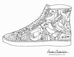 unique growth shoes coloring pages converse page free 3544 unknown of awesome nike jordan sneakers coloring