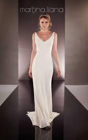 classic simple wedding dress martina liana wedding dresses