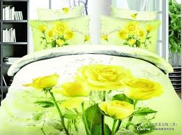 3d yellow rose print bedding sets queen size full double quilt duvet cover sheets bedspread bed in a bag bedsheet linen cotton comfortable sets bedding