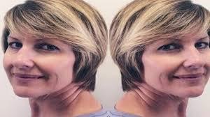 قصات شعر قصير للنساء فوق الاربعين