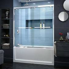 home depot glass tub doors encore frosted frameless bathtub doors bathtubs the home depot completely frameless