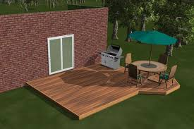 Backyard Deck Designs Plans New Decorating Ideas