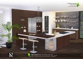 sims 4 kitchen design. cayenne kitchen at simcredible designs 4 sims design b