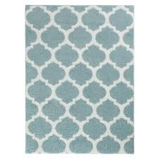 seyward angel blue white 5 ft x 7 ft area rug