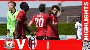 Highlights: Liverpool v Bologna | Back-to-back wins for the Reds - YouTube
