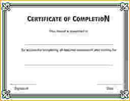 certificates of completion for kids printable certificate of completion certificate of completion