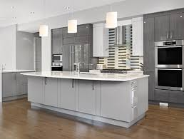 full size of cabinets light grey painted kitchen cabinet design with hanging lamps and brown floor