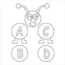 They will help to remember the alphabet, numbers, and account on the associative level. Coloring Pages Alphabet V Coloring Pages For Preschoolers
