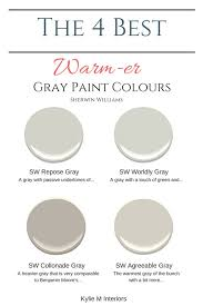 the best warm gray paint colours that are almost greige sherwin williams color consultant