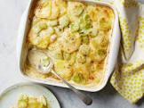 broccoli potato gratin