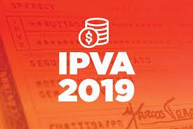 Resultado de imagem para PARCELA  DO IPVA 2019