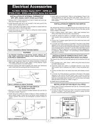instruction manual Capillary Thermostat Wiring Diagram AC Thermostat Wiring