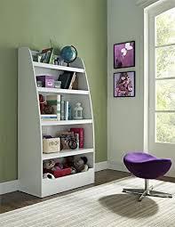 ameriwood home hazel kids 4 shelf bookcase white