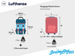Lufthansa Baggage Allowance For Carry On And Checked Baggage