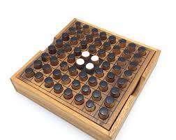 Wooden Othello Board Game Othello game Etsy 24