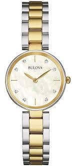 Designer Diamond Watches Amazon Com Bulova Ladies Womens Designer Diamond Watch