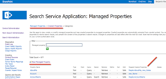 Sharepoint Search Crawled Managed Properties Sharegate