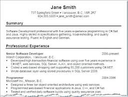 Resume Summary Template Resume Summary Example How To Write Personal Enchanting Personal Summary Resume