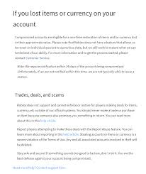 Psa What To Do If Your Account Was Hacked And Or You Lost Items Or