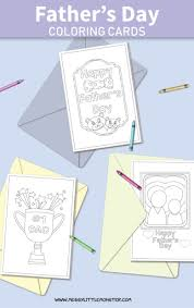 Any day is just as good as any to tell a father that he's much appreciated, but father's day is that one our library of beautifully designed cards include over 200 father's day card templates in various styles and themes, so you have a lot of options to choose from. Printable Father S Day Cards To Color Messy Little Monster