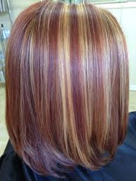 Red Copper And Spun Gold Highlights