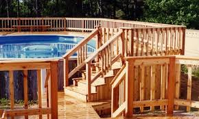 above ground pool deck designs photos pools with decks tips ideas design inspiration multi level wood