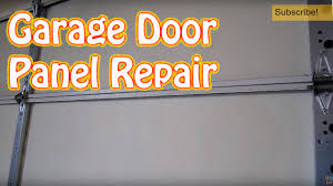 garage door repair diyDIY  How to Repair or Replace a Single Garage Door Panel