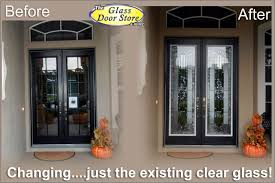 black glass front door. Inspiring Black Double Front Doors With Top Glass Door O